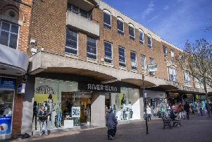 River Island will move from its current location in Abington Street into the Grosvenor Centre.