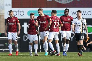 The Cobblers have endured a frustrating season