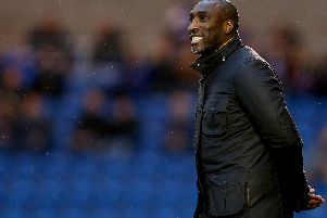 Sol Campbell has been manager of Macclesfield since the end of November