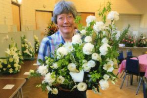 North Mundham Flower Club show