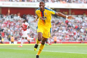 Wilfried Zaha (Photo by Warren Little/Getty Images)
