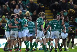 Newcastle won at Franklin's Gardens back in December
