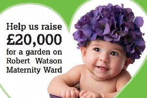 Dig deep and raise money for the maternity ward at Northampton General Hospital.