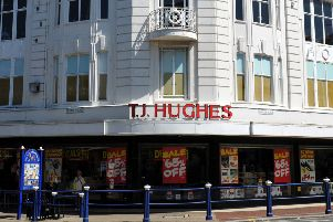 T.J. Hughes store Terminus Road Eastbourne. June 29th 2011 E26088M ENGSNL00120111207164603