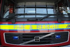 Hastings firefighters were called to the scene