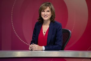 Host Fiona Bruce recently took over the reins of the political panel show from David Dimbleby.