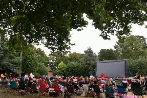 Highgate House is hosting its cinema again this summer.