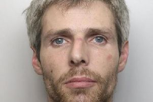 Peter Stearns, 36, has been sentenced to more than seven years behind bars.