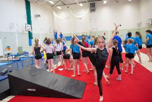 Worthing Gymnastics Club are looking to keep girls in the sport
