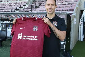 Joe Martin has signed for the Cobblers on a two-year deal (Picture: Pete Norton)