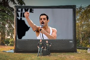 Bohemian Rhapsody is being shown across six different locations in Northamptonshire and Bedfordshire.
