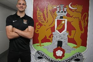 Harry Smith has signed a three-year deal with the Cobblers (Picture: Pete Norton)