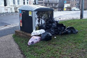 An example of fly-tipping in Hastings. Picture: Drew Brooke-Mellor