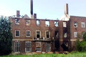 Beech Grove Hall in Manby has suffered yet another fire. (Image: supplied).