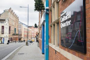 The Cultural Quarter in Northampton