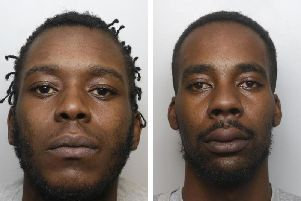 Drug dealers Kayongo Shuleko (left) and Jerome Smikle (right) murdered Josh Bains over a 40 drug debt they owed him.