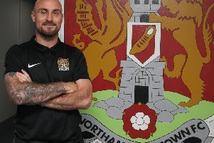 New Cobblers signing Alan McCormack (Picture: Pete Norton)