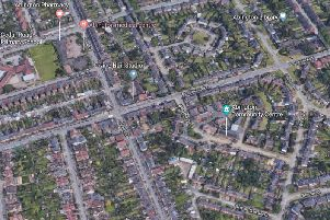 The accident happened in Birchfield Road East
