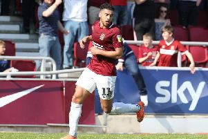 Daniel Powell has left the Cobblers and signed for Crewe