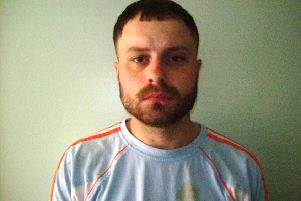Jailed: Lee Grayson.