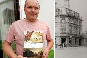 """Author Dave Knibb researched Northampton's pubs for four and a half years to write """"Last Orders""""."""