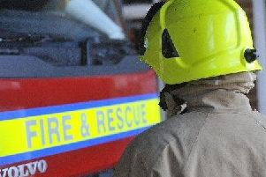 There was a two vehicle crash near Horsham