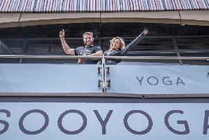 Soo Yoga - the new business venture by Kristina Rhianoff and Ben Cohen - is set to open next week.