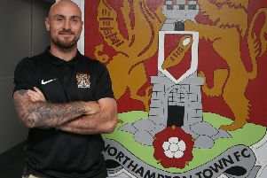 New Cobblers midfielder Alan McCormack