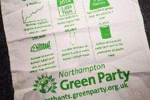 Pick up a free tote bag this weekend in Kingsthorpe - in turn for swapping a plastic one.