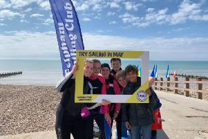 Felpham Sailing Club's Push The Boat Out day