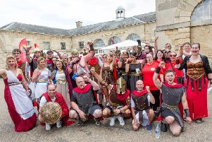 A similar Spartan event organised by Stonegate Pub Company in 2017, raising �73,500 for Noah's Ark Children's Hospice in Barnet