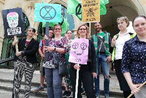 Protests by Extinction Rebellion both locally and in London have helped push climate change to the forefront of the council's thinking
