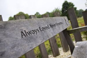 A memorial bench has also been put in place for a former consultant at NGH, Roy Davies. He set up the Infertility Clinic, followed by Northants Fertility Service nearby in 1989. Just 10 years later, the unit had seen well over a thousand babies born.