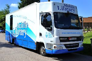 The council's remaining mobile library after the other was taken off the road