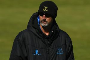 Sussex coach Jason Gillespie (Photo by Stu Forster/Getty Images)