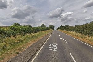 The accident happened on the A508 near Grafton Regis