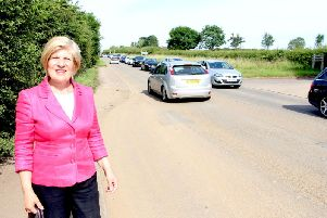 Sally Keeble says the North West Relief Road is not 'fit for purpose'.