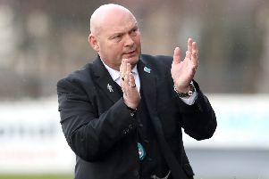 Ballymena United manager David Jeffrey. Pic by INPHO.