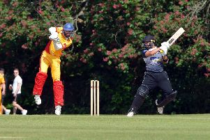 Action from Roffey's game action Horsham in June. Picture by Peter Cripps