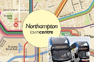 Northampton's Stagecoach buses will be tweaked before the end of the month. Images courtesy of Stagecoach.
