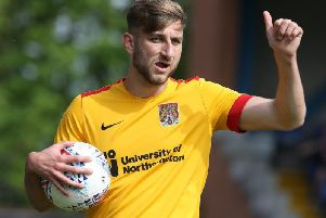 Charlie Goode is the new Cobblers first team skipper (Picture: Pete Norton)