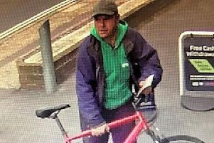 Anyone who recognises the man or who may have information about the incident is asked to report online or call 101 quoting serial 542 of 15/06.