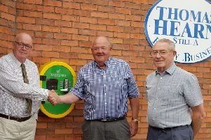 Simon Kirkpatrick (Thomas Hearns), Neil Morris (Kenilworth HeartSafe) & Keith Grierson (Kenilworth HeartSafe)