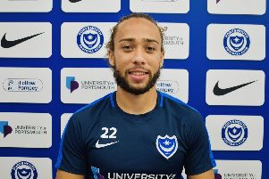 Pompey have recruited Marcus Harness from Burton for an undisclosed fee. Picture: Portsmouth FC