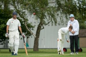 Luke Satchwell finished with impressive figures of 10-2-22-5 for his first five-wicket haul