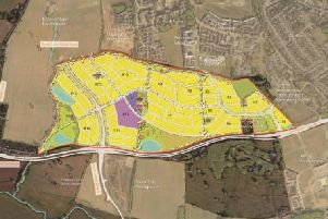 The proposed layout of the new Upton Lodge site