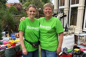 Fundraisers Louise and Megan Webb