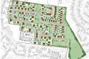 The proposed layout of the former British Timken site