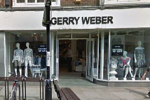 Gerry Weber in Chichester, photo courtesy of Google Streetview