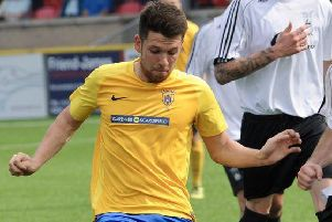 Summer signing Lewis Finney struck on his Lancing return in the win at Eastbourne United
